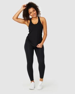 Muscle Republic Flow Singlet - T-Shirts & Singlets (Black)