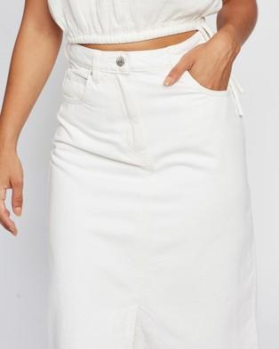 M.N.G Bayb h Skirt - Denim skirts (Natural)