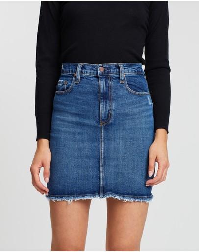 b3102147e4 Denim Skirts   Buy Mini, Midi & A Line Denim Skirts Online Australia- THE  ICONIC