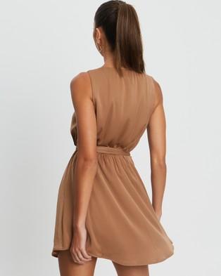 BWLDR Fredom Mini Dress - Dresses (Tan)