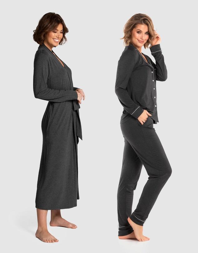 Women Manor Robe & PJ Set