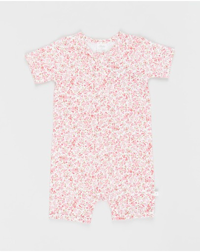 Bebe by Minihaha - Floral SS Romper - Babies
