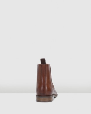 Clarks Stanford Top - Boots (British Tan Leather)