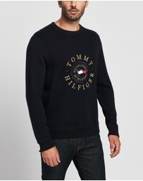 Tommy Hilfiger - Structured Graphic Sweater