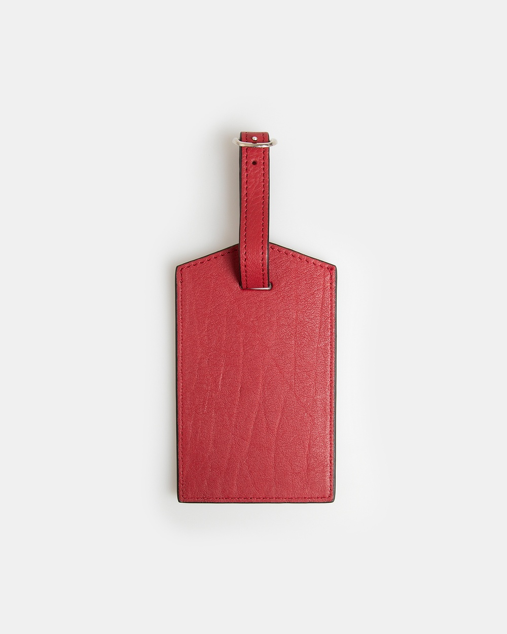 Globite Leather Luggage Identifier Travel and Red