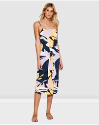 Seafolly - Cut Copy Tie front Slip Dress