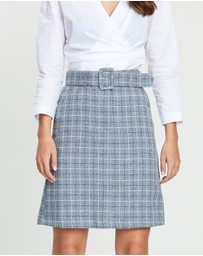 Forcast - Alice Check Skirt