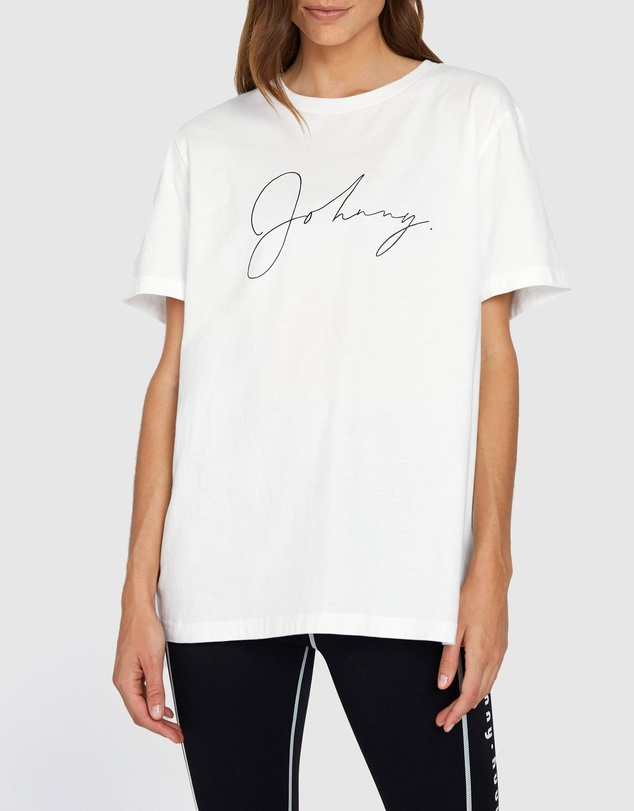 BY JOHNNY. - Unisex Autograph Tee