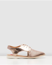 Rollie - Slingback Punch Shoes