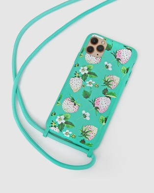 Belle & Bloom Into The Jungle Phone Case   iPhone 11 Pro - Tech Accessories (Green)