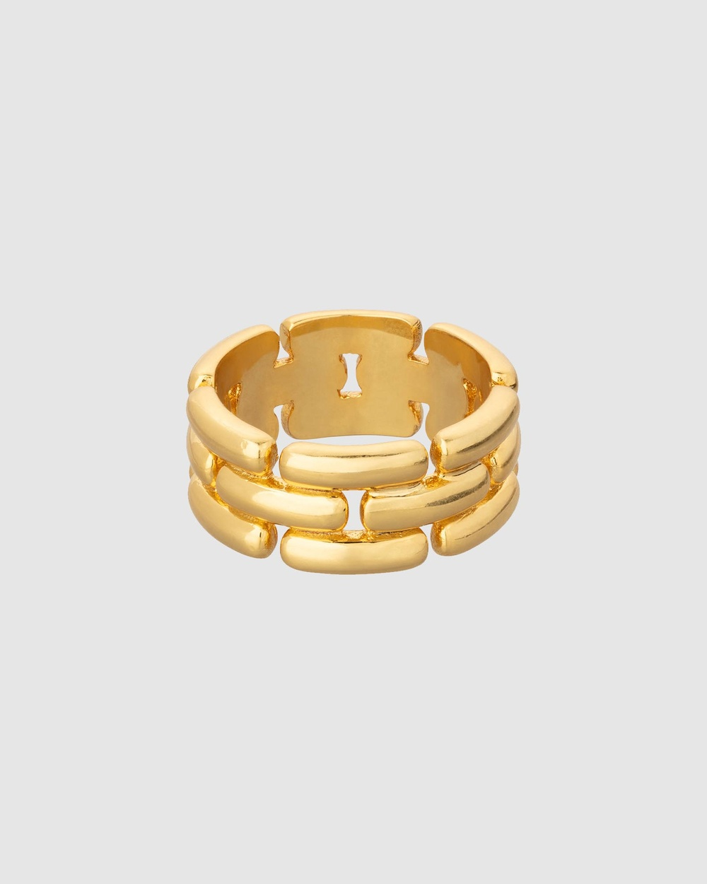 Oroton Kylo Ring Jewellery Worn Gold