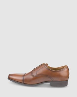 Florsheim Jackson Cap - Dress Shoes (Tan)