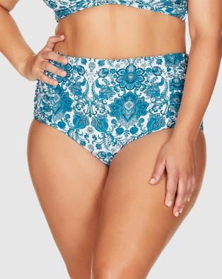 Artesands Arabesque Botticelli High Waist Swim Pant - Briefs (Arabesque)
