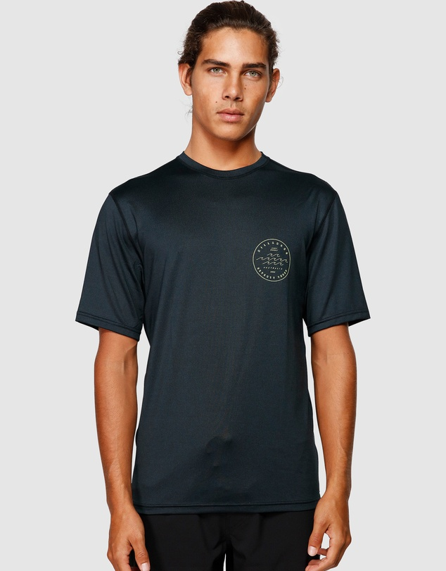Billabong - Wavy Davy Lf Short Sleeve Rash Vest