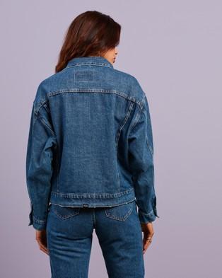 Thrills - Mercy Jacket - Denim jacket (Rinsed Blues) Mercy Jacket