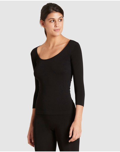 Boody Organic Bamboo Eco Wear - 3 Pack 3/4 Sleeve Top