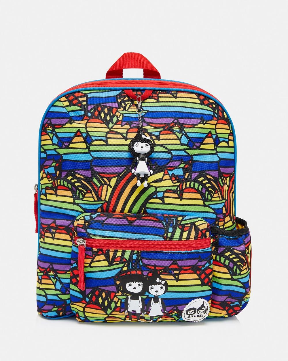 Babymel Rainbow Multi Backpacks Yellow