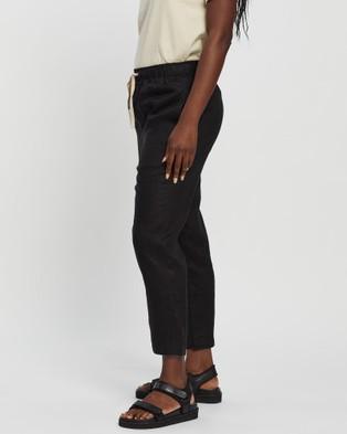 White By FTL Abigail Pants - Pants (Black)