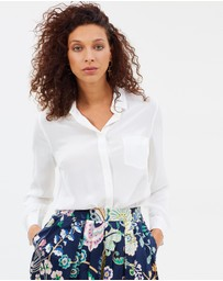 J.Crew - Silk button-up shirt