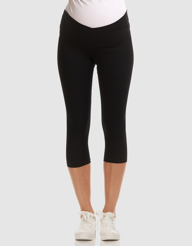 Soon Maternity - Sage 3/4 Active Leggings