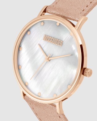 Missguided Missguided Metallic Rose - Watches (Rose)