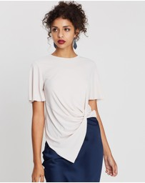 TOPSHOP - Knot Front Tee