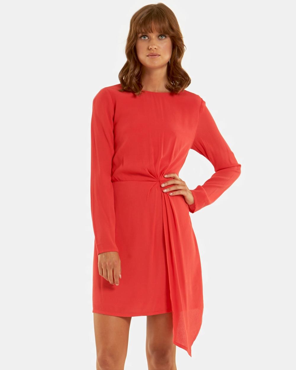 Amelius Celeste Dress Dresses Red Celeste Dress