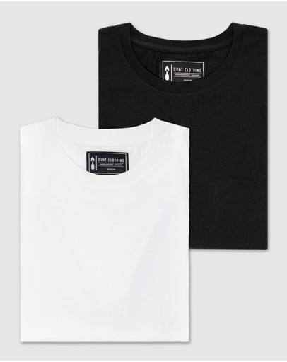 Dvnt 2 Pack Devoid Premium Tee Black & White