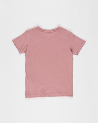 Cotton On Kids Core Short Sleeve Tee   Kids - T-Shirts & Singlets (Vintage Berry)