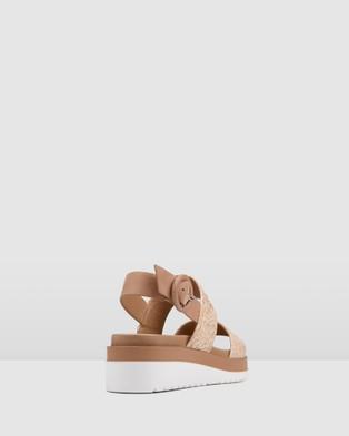 Jo Mercer Casa Low Heel Wedges - Wedges (NATURAL RAFFIA)