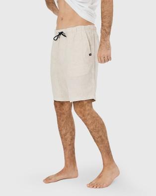 Coast Clothing Linen Shorts - Shorts (Sand)