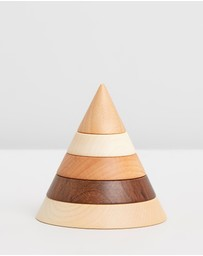 Noc Noc - Woodland Wooden Christmas Tree Stacker