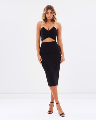 Ivory & Chain – Sunrise Dress – Dresses (Black)