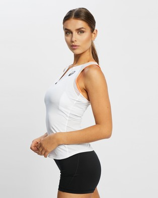 ASICS - Match Tank Muscle Tops (Brilliant White)