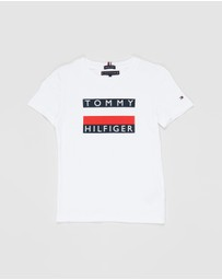 Tommy Hilfiger - Essential Hilfiger Short Sleeve Tee - Kids