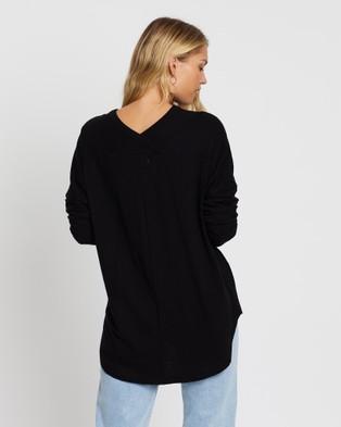 KAJA Clothing Kenzie Top - T-Shirts & Singlets (Black)
