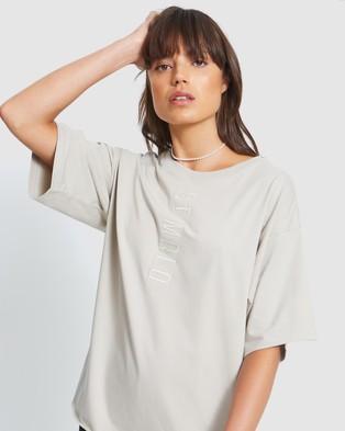 ST MRLO Maui Tee - T-Shirts & Singlets (Mushroom)