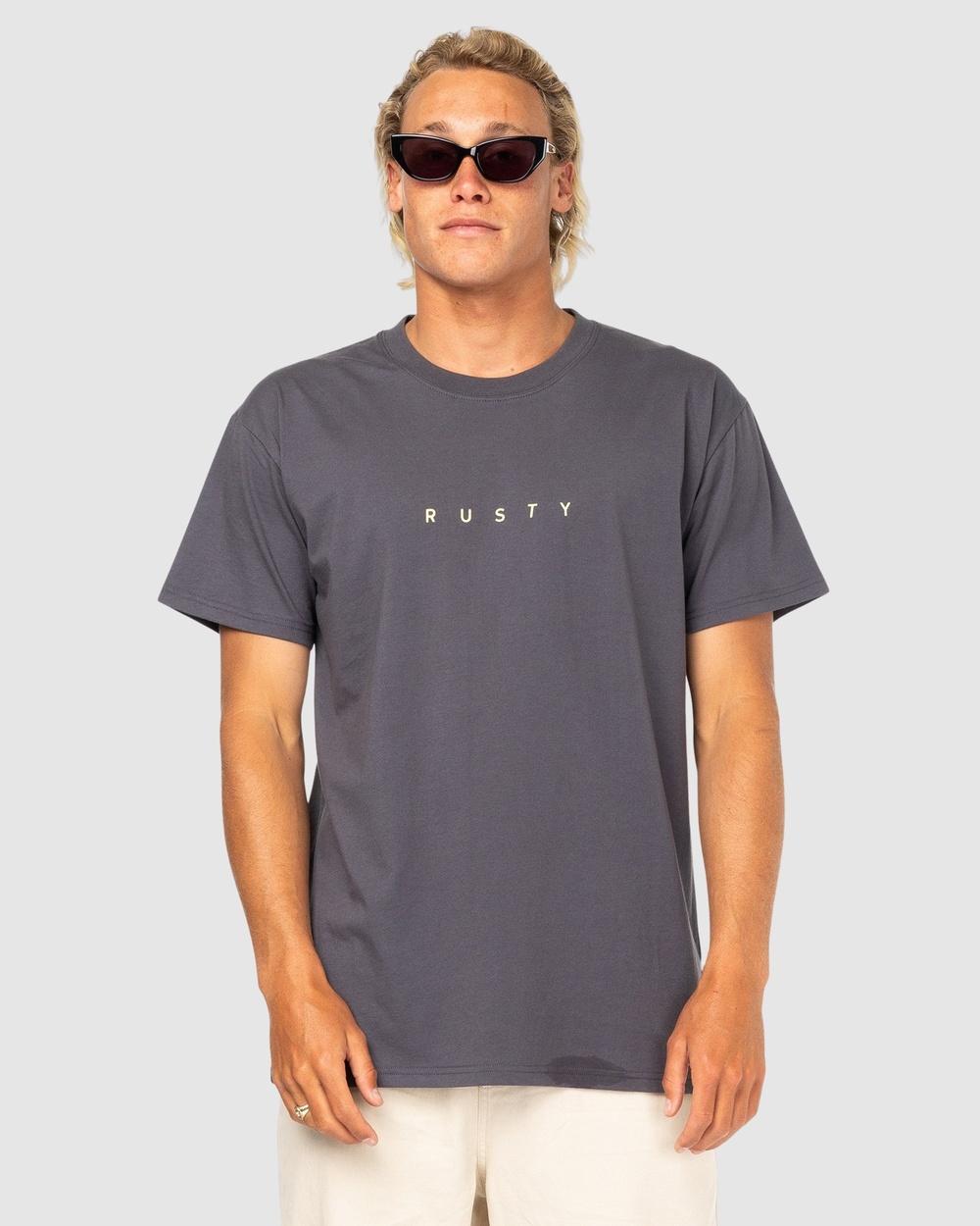 Rusty Short Cut Sleeve Tee T-Shirts COA Australia
