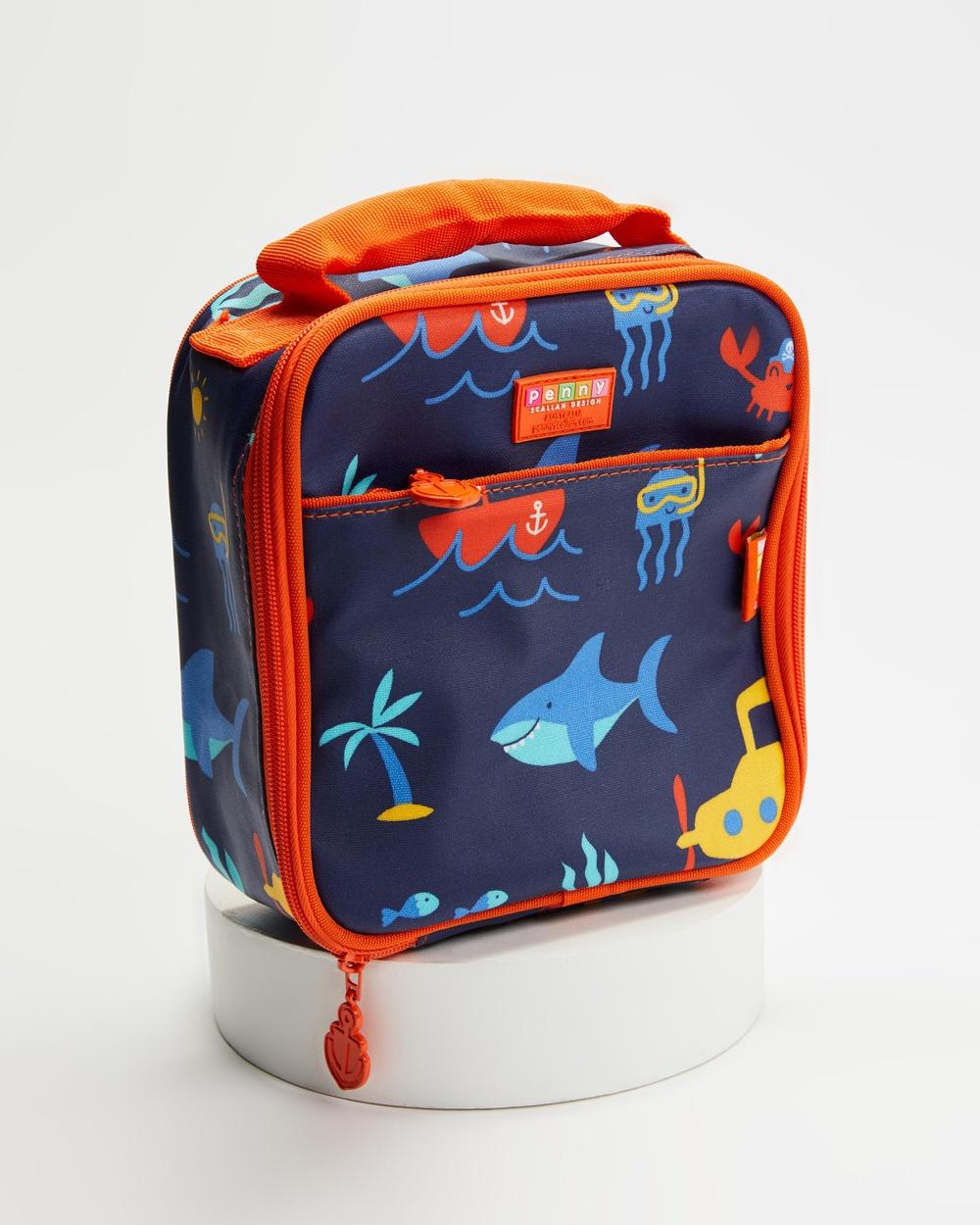 Penny Scallan Lunchbox School Kids Home Anchors Away