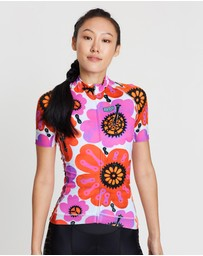 Cycology - Pedal Flower Cycling Jersey