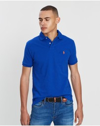 Polo Ralph Lauren - Custom Slim Fit Mesh Knit Polo