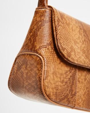 Brie Leon The Camille - Handbags (Desert Snake Skin)