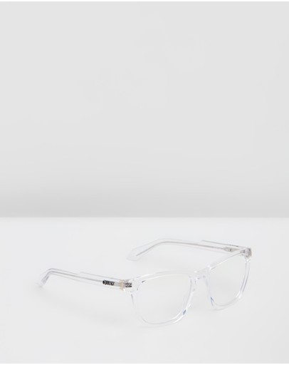 Quay Australia - Hardwire Clear Square Blue Light Lenses