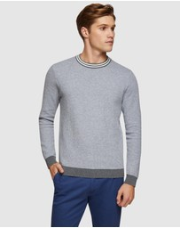 Oxford - Fred Crew Neck Pullover