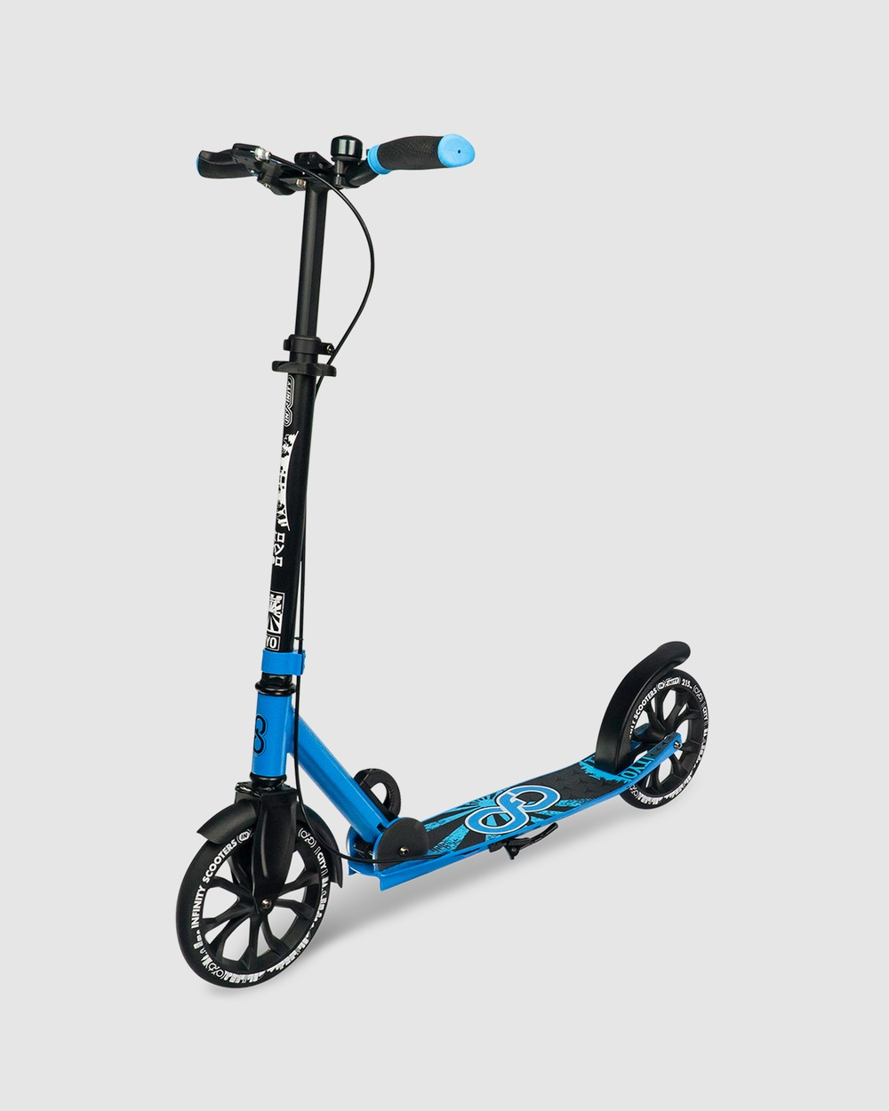 Crazy Skates TYO Tokyo Commuter Scooter All toys Cyan All toys Australia