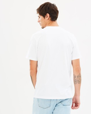 Carhartt Pocket SS T Shirt - T-Shirts & Singlets (White)