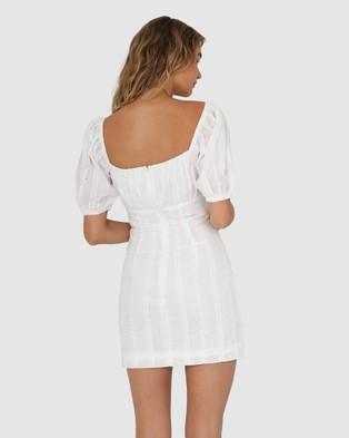 Lost in Lunar  Greta Dress - Dresses (White)