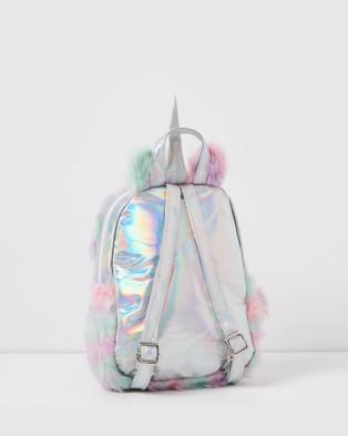Izoa Kids Furry Friend Backpack - Bags (Multi)