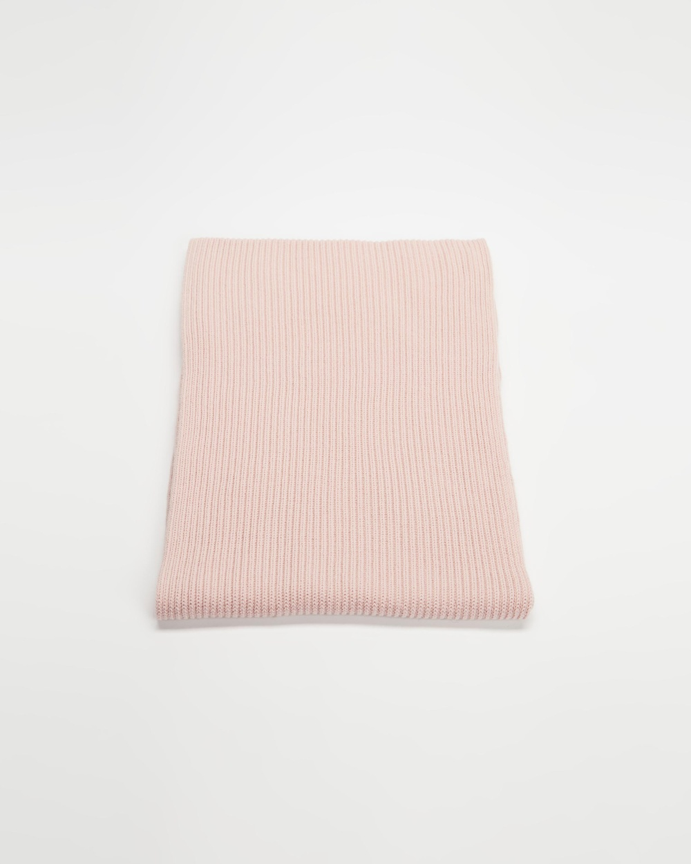 AERE Organic Cotton Knit Scarf Scarves & Gloves Comfy Pink