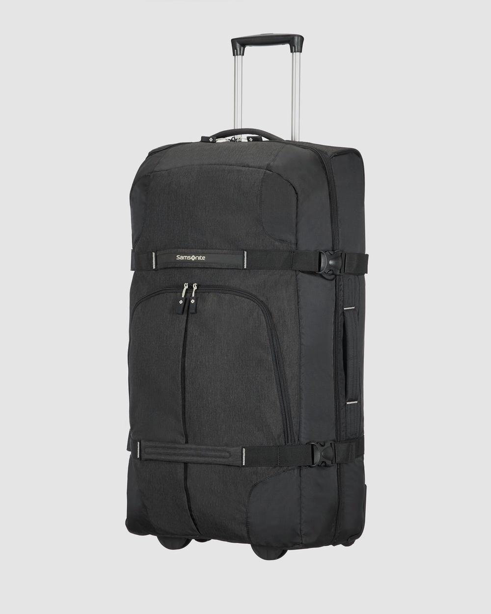 Samsonite Rewind Duffle Wheeled 82cm Bags Black